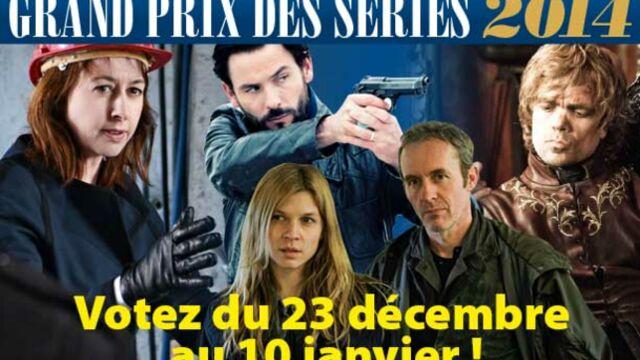 Grand Prix des séries 2014 : votez pour le meilleur acteur français