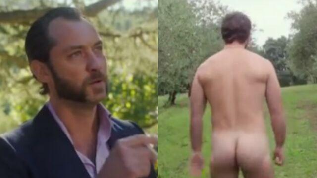 Jude Law se déshabille pour son nouveau film, Dom Hemingway (VIDEO)