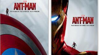Ant-Man nargue les Avengers sur des nouvelles affiches