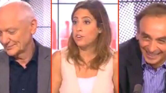 Léa Salamé : ses adieux aux « chics types » Éric Zemmour et Nicolas Domenach (VIDÉOS)