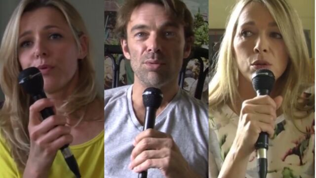 Hélène Rollès et Patrick Puydebat se souviennent de la Maison des secrets (VIDEO)