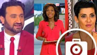 Looks à la télé : rouge pour Cyril Hanouna, Cristina Cordula et Kareen Guiock (24 PHOTOS)