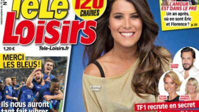 A la Une de Télé-Loisirs : Karine Ferri dans le casting secret de Danse avec les stars 7