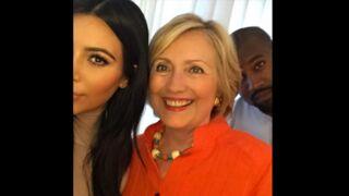 Twitter : Le selfie de Kim Kardashian avec Hillary Clinton