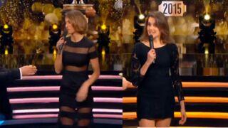 Looks à la télé : Laury Thilleman glamour, Fanny Agostini sexy en robe noire (25 PHOTOS)