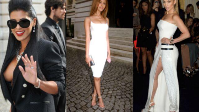 Ayem, Zahia et Jennifer Lopez très sexy au défilé Versace