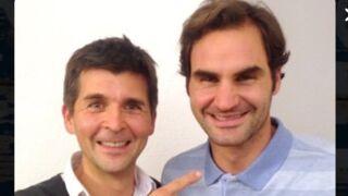 Thomas Sotto va réaliser son rêve en interviewant enfin Roger Federer (et il l'aura mérité) !