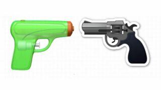 Apple remplace l'émoji revolver par... un pistolet à eau !