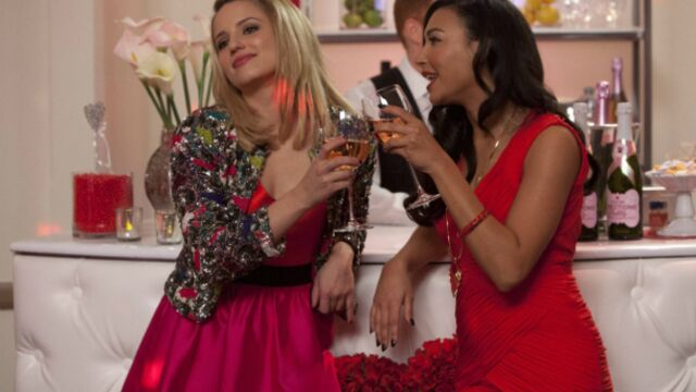Un mariage dans Glee !
