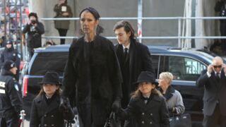Funérailles de René Angélil : ultimes adieux pour Céline Dion et ses proches (PHOTOS)