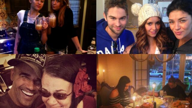 Rihanna, Miley Cyrus, Jennifer Lopez : les stars fêtent Thanksgiving en famille (PHOTOS)