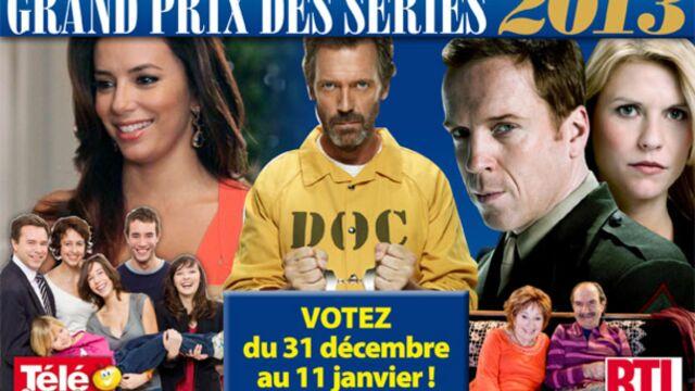 Grand Prix des séries 2013 : quel est le meilleur acteur dans une série étrangère ?