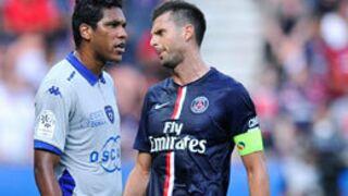 Brandao met un coup de tête à Thiago Motta après PSG-Bastia (VIDEO)