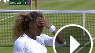 Wimbledon 2014 : Serena Williams victime d'un malaise