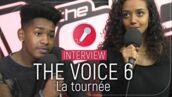 Lisandro, Lucie, Ann-Shirley, Matthieu... Les talents de The Voice 6 nous parlent de la tournée ! (VIDEO)