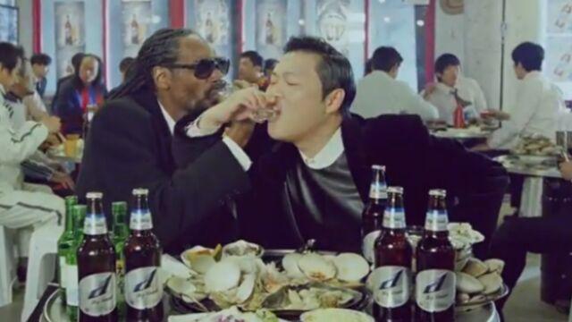 Psy (Gangnam Style) : sa beuverie avec Snoop Dogg (VIDEO)