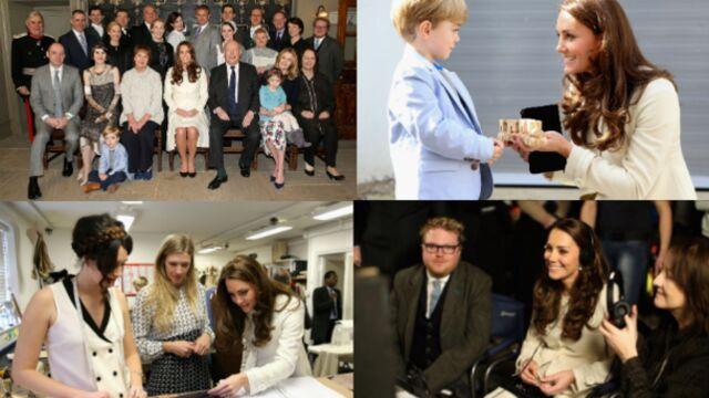 La visite de Kate Middleton à Downton Abbey (PHOTOS)