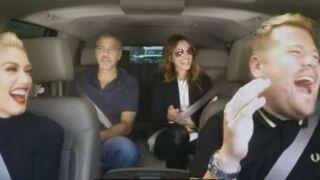 Julia Roberts et George Clooney s'éclatent au karaoké avec Gwen Stefani (VIDEO)