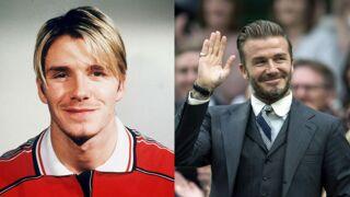 David Beckham : le footballeur a bien changé depuis ses débuts ! (23 PHOTOS)