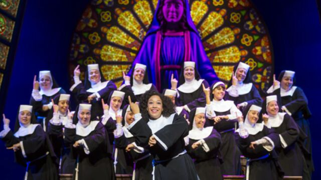 Dans les coulisses de Sister Act (VIDEO)