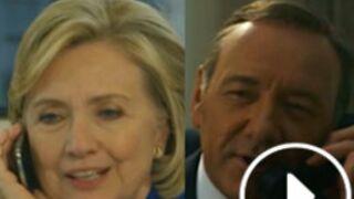 Hillary Clinton parodie House of Cards pour fêter l'anniversaire de son mari (VIDEO)