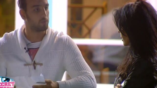 Secret Story : la déclaration d'Aymeric à Nathalie (VIDEO)
