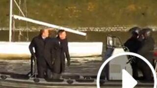 Spectre : une première vidéo du tournage du nouveau James Bond dévoilée (VIDEO)