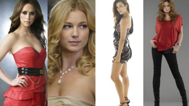 L'actrice de série la plus sexy est...