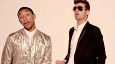 Blurred Lines : Robin Thicke et Pharrell Williams condamnés pour plagiat