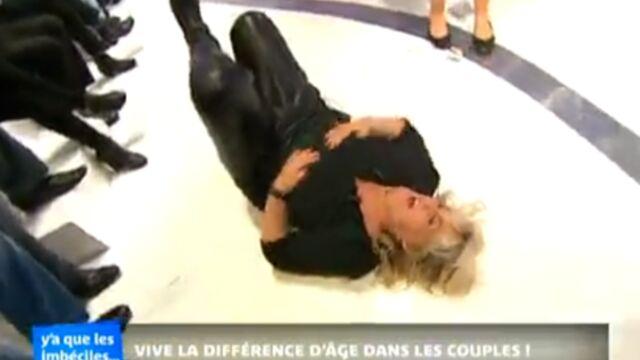 Valérie Damidot s'étale sur son plateau (VIDÉO)