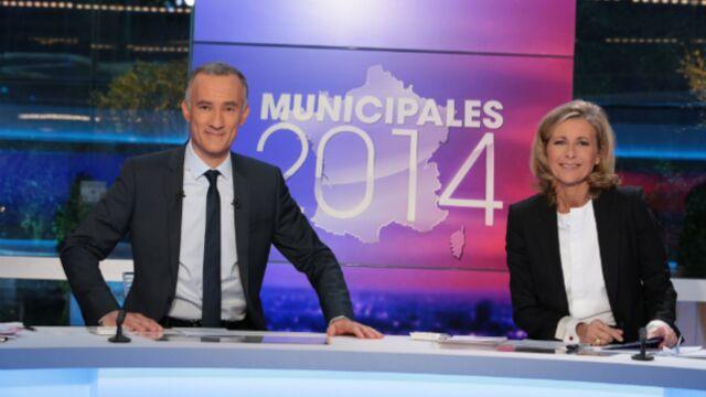 TF1 leader de la soirée des municipales
