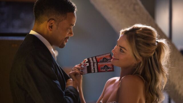 La sortie ciné de la semaine : Diversion avec Will Smith et Margot Robbie en escrocs sexy (PHOTOS)