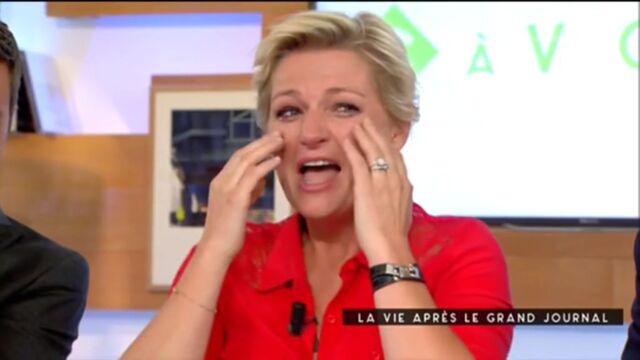 C à vous : le gros fou rire d'Anne-Élisabeth Lemoine (VIDÉO)