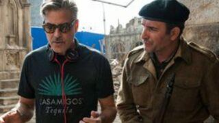 Jean Dujardin avec George Clooney pour la nouvelle pub Nespresso