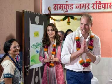 Kate et William, premiers pas en Inde