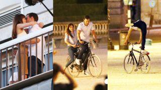 50 Nuances plus sombres : Jamie Dornan et Dakota Johnson s'éclatent à bicyclette au Louvre (18 PHOTOS)