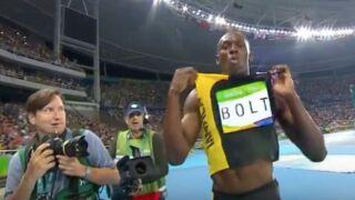 Jeux olympiques : Usain Bolt entre dans la légende (VIDÉO)