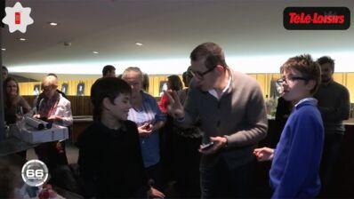 Dany Boon fête les 10 ans de son fils devant les caméras de 66 Minutes... (VIDEO)
