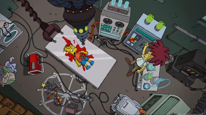 Les Simpson : La Vengeance Est Un Plat Qui Se Mange Trois Fois Saison 18 Episode 11