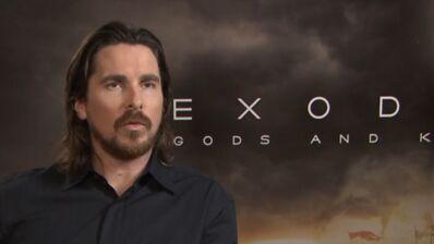 """Christian Bale (Exodus : Gods and Kings, W9) : """"Moïse est un antihéros"""" (INTERVIEW VIDEO)"""