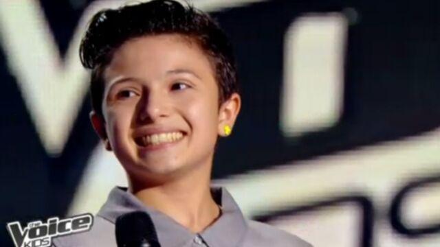 The Voice Kids : Adrien fait l'unanimité (VIDÉOS)