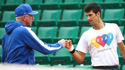 Tennis : Clap de fin entre Novak Djokovic et Boris Becker