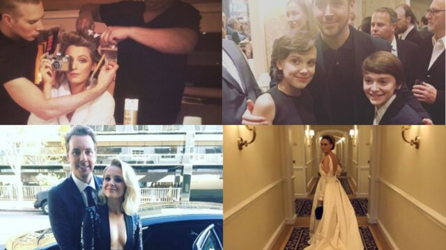 Golden Globes 2017 : les stars vous font vivre les coulisses (PHOTOS)