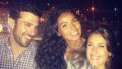 Koh-Lanta : Toujours complices, Romain et Laureen retrouvent Karima, un mois après la finale (PHOTOS)