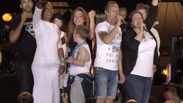 Plus belle la vie : les acteurs chantent contre le cancer (VIDEO)