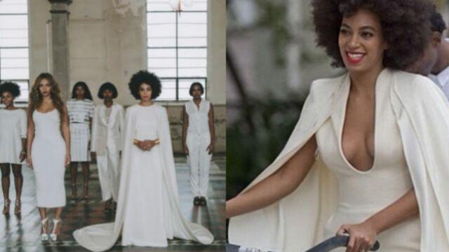 Solange Knowles (la soeur de Beyoncé) s'est mariée ! (PHOTOS)