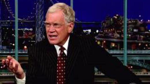 David Letterman menacé de mort par Al-Qaïda