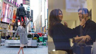 Iris Mittenaere : nouvelle coupe de cheveux, balade à Times Square... Son quotidien à New York (9 PHOTOS)
