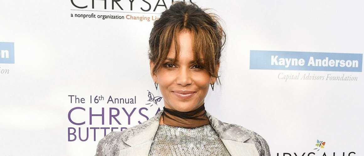halle berry enceinte l 39 actrice de 50 ans r agit avec beaucoup d 39 humour la rumeur photo. Black Bedroom Furniture Sets. Home Design Ideas