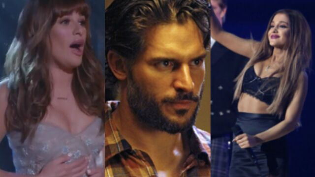 Lea Michele, Joe Manganiello et Ariana Grande : le trio de choc de Scream Queens